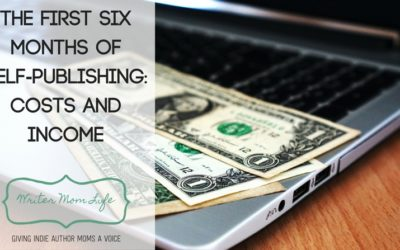 The first six months of self-publishing: costs and income