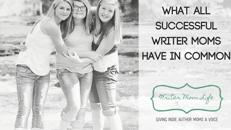 Successful writer moms have this one thing in common