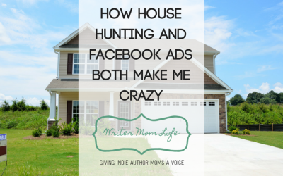 This is my Saturday now: house hunting and Facebook ads