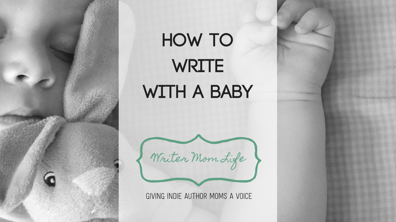 How to write with a baby