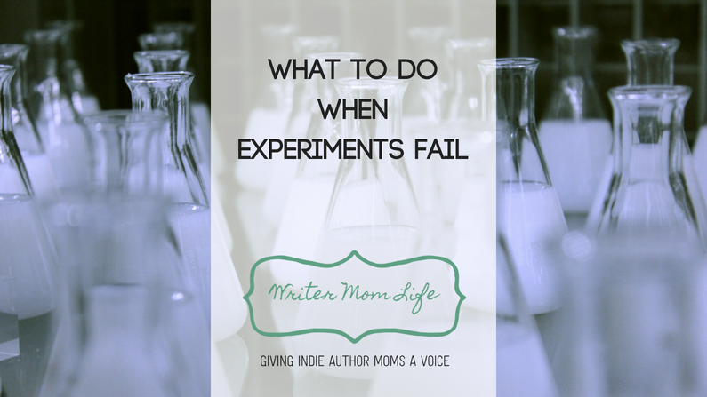What to do when experiments fail
