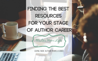 Finding the best resources for your stage of author career